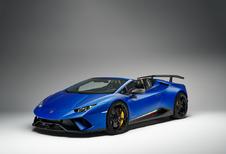 Gims 2018 – Lamborghini Hurácan Spyder Performante : mélange des genres