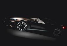 Audi E-Tron GT is Porsche Mission E met ringen