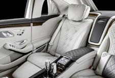 Mercedes-Maybach S 650 Pullman : nouvelle calandre