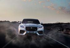 NYIAS 2018  - Le Jaguar F-Pace en mode SVR