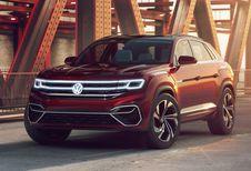 NYIAS 2018 – Volkswagen Atlas Cross Sport Concept: vijfzitter