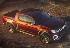 Volkswagen Atlas Tanoak Concept is Amarok XL