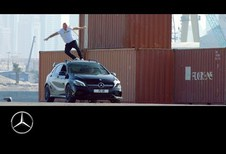 Mercedes: sterren en stuntwerk