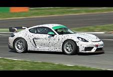 VIDEO – Porsche 718 Cayman GT4 Clubsport test op Monza