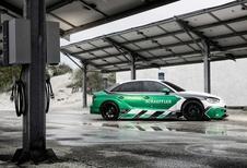Audi RS3 met 1.200 elektrische pk's