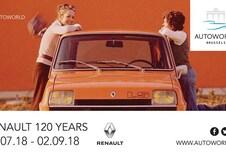 Les 120 ans de Renault à Autoworld