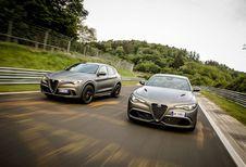 Alfa Romeo Giulia et Stelvio NRING pour fêter les 108 ans