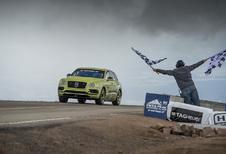 Bentley Bentayga snelste SUV ooit op Pikes Peak