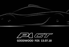 McLaren P1 GT: uniek model in Goodwood