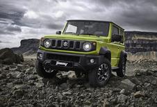 Meer details over de nieuwe Suzuki Jimny