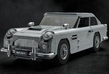 Lego bouwt Aston Martin DB5 van James Bond