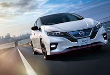 Sportieve Nismo-behandeling voor de Nissan Leaf EV