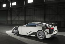 Wat doet deze Lexus LFA Art Car op de 24 Uur van Spa?
