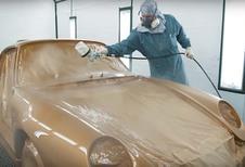 Pebble Beach 2018 – Porsche 911 Project Gold : le 3,6 litres de la 993