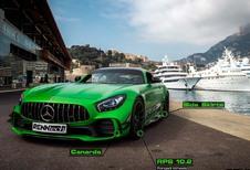 Mercedes-AMG GT-R: 7 min 04 s op de Nürburgring