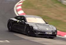 Porsche Taycan: nog steeds met nep-uitlaten