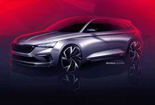 Skoda Vision RS: sportieve concept voor Parijs