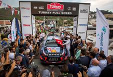 Thierry Neuville al aan de leiding in rally van Turkije