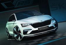 La motorisation hybride du concept Škoda Vision RS