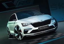 Skoda Vision RS wordt hybride hot hatch