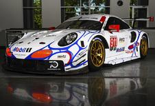 Porsche en Vanthoor opnieuw retro op Petit Le Mans