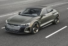 Audi e-tron GT: productieversie in 2021 #1