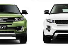 Range Rover Evoque-kloon van Landwind mag niet meer verkocht worden