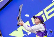 Jamie Chadwick is eerste W Series-kampioen