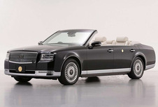Toyota Century : en cabriolet, mais pour l'empereur du Japon
