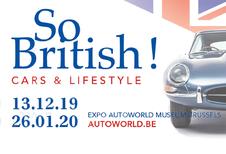 Autoworld wordt So British! voor het eindejaar