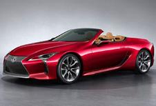 Lexus LC: nu ook als Convertible #1