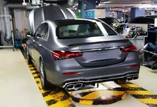 Gelekt: Mercedes E-Klasse als E63 AMG #1