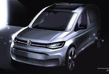 Volkswagen Caddy: de tekeningen voor de onthulling #1