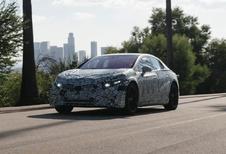 Mercedes EQS bereidt zich voor op productie #1