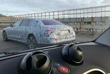 Mercedes S-Klasse: testprototypes volgende generatie in België #1