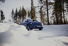 Mercedes EQA: elektrische GLA in wintertests #1