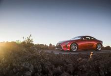 Lexus LC: modeljaarupdate voor fijner weggedrag