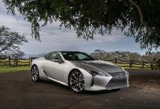 Update maakt Lexus LC dynamischer