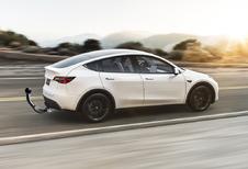 Tesla Model Y sleurt tot 1.600 kilo