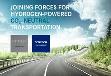 Volvo et Daimler (Mercedes) ensemble dans l'hydrogène
