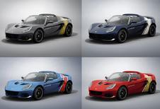 Welke klassieke racekleuren zou jij nemen op je Lotus Elise?