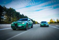 Alfa Romeo Giulia en Stelvio Quadrifoglio ook gefacelift