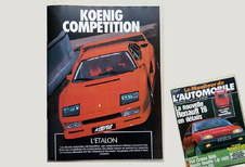 Que pensait Le Moniteur Automobile de la Koenig Competition en 1988?