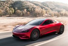 Tesla Roadster komt pas in 2022