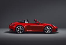 Porsche 911 Targa vervoegt de Cabriolet en de Coupé