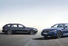 BMW stelt facelift 5 Reeks officieel voor