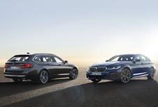 Officieel: facelift BMW 5 Reeks en 5 Reeks Touring