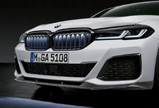 BMW 5 Reeks M Performance Parts krijgt verlichte grille van X6