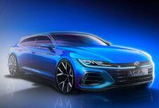 Volkswagen Arteon : teaser avec le shooting brake