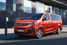 Opel Zafira-e Life : le trio au complet